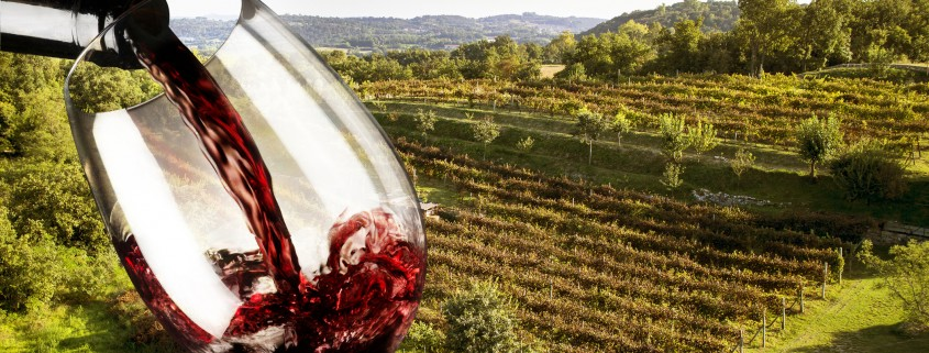 Italienischer Rotwein
